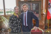 Staatsakt 60 Jahre Staatsvertrag - Oberes Belvedere - Fr 15.05.2015 - Agens HUSSLEIN, Josef OSTERMAYER8