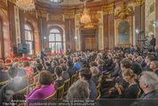 Staatsakt 60 Jahre Staatsvertrag - Oberes Belvedere - Fr 15.05.2015 - �bersichtsfoto Panorama G�ste Regierung Ansprache Marmorsaal83