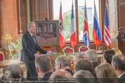Staatsakt 60 Jahre Staatsvertrag - Oberes Belvedere - Fr 15.05.2015 - Reinhold MITTERLEHNER bei Ansprache84