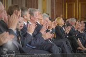 Staatsakt 60 Jahre Staatsvertrag - Oberes Belvedere - Fr 15.05.2015 - Regierung88