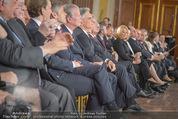 Staatsakt 60 Jahre Staatsvertrag - Oberes Belvedere - Fr 15.05.2015 - Regierung89