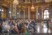 Staatsakt 60 Jahre Staatsvertrag - Oberes Belvedere - Fr 15.05.2015 - �bersichtsfoto Panorama G�ste Regierung Ansprache Marmorsaal93