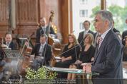 Staatsakt 60 Jahre Staatsvertrag - Oberes Belvedere - Fr 15.05.2015 - Werner FAYMANN bei Ansprache95