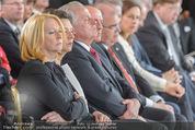 Staatsakt 60 Jahre Staatsvertrag - Oberes Belvedere - Fr 15.05.2015 - BURES, HEINISCH-HOSEK, HUNDSTORFER etc w�hrend FAYMANN-Ansprach96