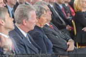 Staatsakt 60 Jahre Staatsvertrag - Oberes Belvedere - Fr 15.05.2015 - Reinhold MITTERLEHNER, Margit und Heinz FISCHER98