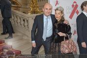 Lifeball Celebration Konzert - Burgtheater - Fr 15.05.2015 - Ali RAHIMI mit Freundin Rahimi35