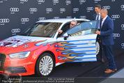 Lifeball Audi Enthüllung - Musikvereinsplatz - Sa 16.05.2015 - 15