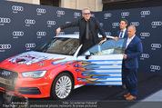 Lifeball Audi Enthüllung - Musikvereinsplatz - Sa 16.05.2015 - Jean-Paul GAULTIER17