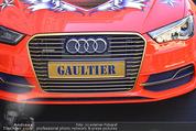 Lifeball Audi Enthüllung - Musikvereinsplatz - Sa 16.05.2015 - Gaultier-Kennzeichen auf Lifeball-Audi37