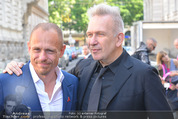 Lifeball Audi Enthüllung - Musikvereinsplatz - Sa 16.05.2015 - Gery KESZLER, Jean-Paul GAULTIER8