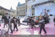 Lifeball Red Carpet - Rathaus - Sa 16.05.2015 - Generalprobe1