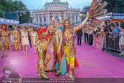 Lifeball Red Carpet - Rathaus - Sa 16.05.2015 - verkleidete G�STE69