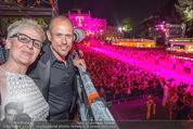 Lifeball Eröffnung - Rathaus - Sa 16.05.2015 - Gery KESZLER am Fotografenturm1