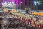 Lifeball Eröffnung - Rathaus - Sa 16.05.2015 - Rathausplatz, Menschenmenge, �bersichtsfoto38