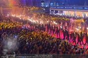 Lifeball Eröffnung - Rathaus - Sa 16.05.2015 - Rathausplatz, Menschenmenge, �bersichtsfoto4