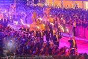 Lifeball Eröffnung - Rathaus - Sa 16.05.2015 - Rathausplatz, Menschenmenge, �bersichtsfoto5