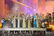 Lifeball Modenschau - Rathaus - Sa 16.05.2015 - Finale der Er�ffnung und Modenschau, B�hnenfoto145