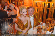 Lifeball Party - Rathaus - Sa 16.05.2015 - Richard und Cathy LUGNER1