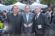 Gewista Plakatparty - Rathaus - Mi 20.05.2015 - Udo HUBER, Oliver VOIGT, Paul SCHAUER27