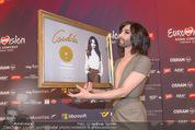 Conchita Wurst PK - Stadthalle Wien - Do 21.05.2015 - Conchita WURST mit Platin-Auszeichnung Platte47