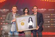 Conchita Wurst PK - Stadthalle Wien - Do 21.05.2015 - Conchita WURST, Dietmar LIENBACHER, Rene BERTO50