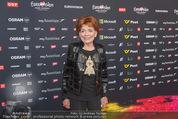 Song Contest Red Carpet - Wiener Stadthalle - Sa 23.05.2015 - Lys ASSIA (erste SongContest Gewinnerin 1956)25