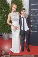 Song Contest Red Carpet - Wiener Stadthalle - Sa 23.05.2015 - Carina SARKISSOVA mit Sohn Gabriel4