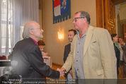 Goldenes Verdienstzeichen Michael Kunze - Rathaus - Mi 10.06.2015 - Michael KUNZE, Wolfgang FISCHER12