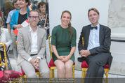 Ausstellungseröffnung - Belvedere Winterpalais - Mi 10.06.2015 - 11
