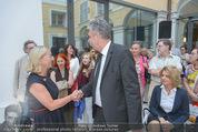 Ausstellungseröffnung - Belvedere Winterpalais - Mi 10.06.2015 - Agnes HUSSLEIN, Hans J�rg SCHELLING12
