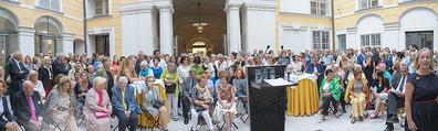 Ausstellungseröffnung - Belvedere Winterpalais - Mi 10.06.2015 - 16