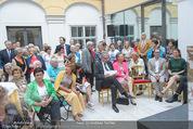 Ausstellungseröffnung - Belvedere Winterpalais - Mi 10.06.2015 - 17