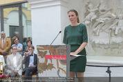 Ausstellungseröffnung - Belvedere Winterpalais - Mi 10.06.2015 - Maike HOHN31