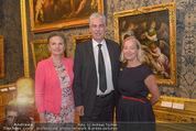 Ausstellungseröffnung - Belvedere Winterpalais - Mi 10.06.2015 - Agnes HUSSLEIN, Hans J�rg SCHELLING mit Ehefrau Uschi45