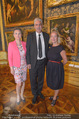 Ausstellungseröffnung - Belvedere Winterpalais - Mi 10.06.2015 - Agnes HUSSLEIN, Hans J�rg SCHELLING mit Ehefrau Uschi46