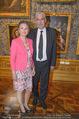 Ausstellungseröffnung - Belvedere Winterpalais - Mi 10.06.2015 - Hans J�rg SCHELLING mit Ehefrau Uschi47