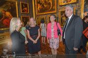 Ausstellungseröffnung - Belvedere Winterpalais - Mi 10.06.2015 - Agnes HUSSLEIN, Hans J�rg SCHELLING mit Ehefrau Uschi49