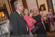 Ausstellungseröffnung - Belvedere Winterpalais - Mi 10.06.2015 - Agnes HUSSLEIN, Hans J�rg SCHELLING mit Ehefrau Uschi52