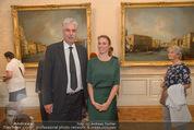 Ausstellungseröffnung - Belvedere Winterpalais - Mi 10.06.2015 - Hans J�rg SCHELLING, Maike HOHN53