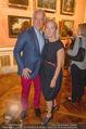 Ausstellungseröffnung - Belvedere Winterpalais - Mi 10.06.2015 - Agnes HUSSLEIN mit Ehemann Peter HUSSLEIN68