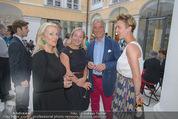 Ausstellungseröffnung - Belvedere Winterpalais - Mi 10.06.2015 - Susi HANEKE, Agnes und Peter HUSSLEIN, Tochter Katharina79