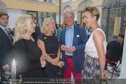 Ausstellungseröffnung - Belvedere Winterpalais - Mi 10.06.2015 - Susi HANEKE, Agnes und Peter HUSSLEIN, Tochter Katharina80