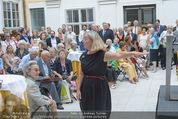 Ausstellungseröffnung - Belvedere Winterpalais - Mi 10.06.2015 - 9