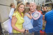 Opening - Cashmere & Silk Store - Do 11.06.2015 - Familie Kurt MANN mit Joanna und Kind Tamara134
