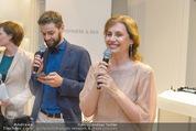 Opening - Cashmere & Silk Store - Do 11.06.2015 - Viktoria SAAVA mit Sohn Dmitry149