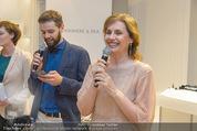 Opening - Cashmere & Silk Store - Do 11.06.2015 - Viktoria SAAVA mit Sohn Dmitry150