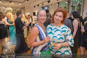 Opening - Cashmere & Silk Store - Do 11.06.2015 - Agnes HUSSLEIN, Irina VITJAZ99
