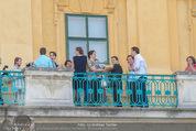 Die Schneekönigin Kinderoper Premiere - Schloss Esterhazy - Fr 12.06.2015 - Schloss Esterhazy G�ste am Balkon145