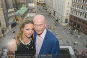 Peschev Kollektionspräsentation - Penthouse am Stephansplatz - Di 16.06.2015 - Kurt MANN mit Joana103