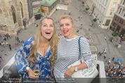 Peschev Kollektionspräsentation - Penthouse am Stephansplatz - Di 16.06.2015 - Evelyn RILLE, Liane SEITZ105